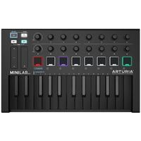 Arturia MiniLab MKII 25-Key USB Controller (Deep Black Edition)