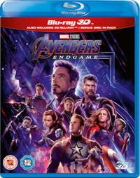 Avengers: Endgame (3D Blu-ray) - Cover