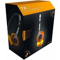 Gioteck TX20 Retro Stereo Game and GO Headset - Orange (Xbox One/PS4/Switch/PC/Mac/Mobile)