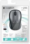Logitech Wireless Mouse M235 - Dark Grey/Colt Matt