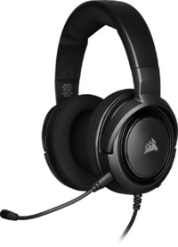 Corsair - HS35 Stereo Gaming Headset - Carbon Black (PC/Gaming) - Cover