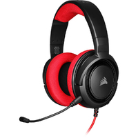 Corsair - HS35 Stereo Gaming Headset - Red (PC/Gaming) - Cover