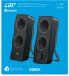 Logitech - Z207 2.0 Stereo Computer Speakers with Bluetooth (PC)
