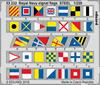 Eduard - Photoetch: 1/200 - Royal Navy Signal Flags STEEL (Plastic Model Kit Add-On)