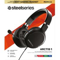 SteelSeries - Wired Gaming Headset - Arctis 1 - Black (PC/Gaming)