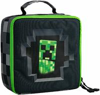 Minecraft - Creepy Creeper Lunch Box - Grey - Cover