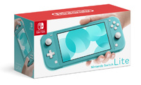 Nintendo Switch Lite Handheld Console - Turquoise - Cover