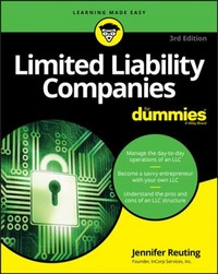 Limited Liability Companies For Dummies - Jennifer Reuting (Paperback) - Cover
