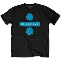 Ed Sheeran - Divide Men's Black T-Shirt (Medium) - Cover
