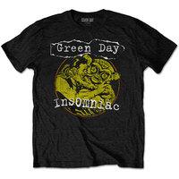 Green Day Free Hugs Men's Black T-Shirt (Medium) - Cover