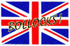 Generic - Union Jack/Bollocks! Standard Patch (Patches: Woven Sew On)