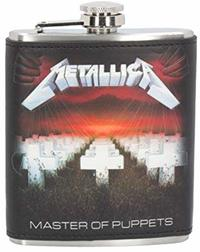 Metallica - Master of Puppets Hip Flask - Cover
