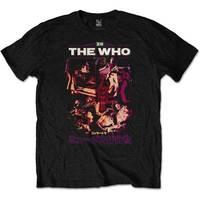 The Who - Japan '73 Men's T-Shirt - Black (Large) - Cover