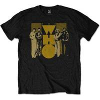 The Who - Yellow Men's T-Shirt - Black (XX-Large) - Cover