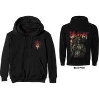 Slipknot - Burn Me Away Men's Hoodie - Black (Small) - Cover