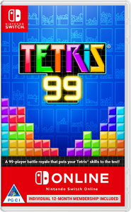 Tetris 99 + 12 Month Subscription Code Nintendo Switch Online (NSO) (Nintendo Switch) - Cover
