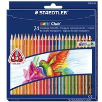Staedtler - Noris Club Abs Coloured Pencils Full Length 24'S Assorted (Box of 5)