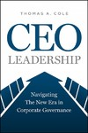 The Ceo Imperative - Thomas A. Cole (Hardcover)
