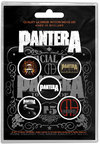 Pantera - 101 Proof Button Badge Pack