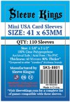 Sleeve Kings - Card Sleeves - Mini USA (110 Sleeves)