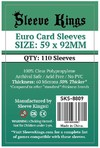 Sleeve Kings - Card Sleeves - Euro (110 Sleeves)