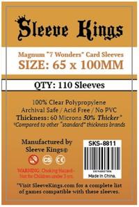 Sleeve Kings - Standard Card Sleeves - Magnum 7 Wonders (110 Sleeves) - Cover