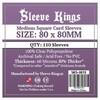 Sleeve Kings - Card Sleeves - Medium Square (110 Sleeves)