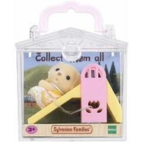 Sylvanian Families - Baby Carry Case (Dog On Slide) (Playset)