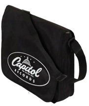 Capitol Records - Logo (Flaptop Messenger Vinyl Bag)