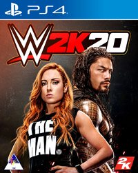 WWE 2K20 (PS4) - Cover