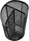 SDS - M100 Wire Mesh Metal Pen Holder Black