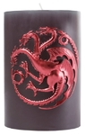 Game of Thrones - Targaryen - Sculpted Insignia Candle (10cm x 15cm)