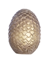 Game of Thrones - Viserion Gold Egg - Sculpted Insignia Candle (6cm x 8.5cm)