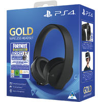 Sony PlayStation Gold 7.1 Wireless Headset Fortnite Neo Versa Bundle - Black (PS4/PC/Mac/PSVR)