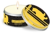 Harry Potter - Hufflepuff - Citrus Scented Tin Candle Small (6cm x 4cm)