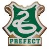 Harry Potter - Slytherin Prefect Enamel Badge