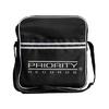 Priority - Logo Striped Messenger Record Bag