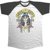 Guns N' Roses - Slash 85 Men's Short Sleeve Raglan (X-Large)
