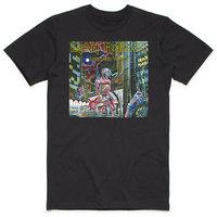 Iron Maiden - Somewhere In Time Box Men's Black T-Shirt (Medium) - Cover