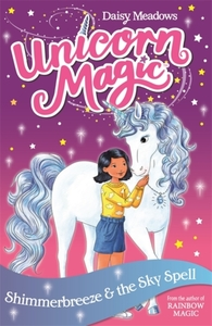 Unicorn Magic: Shimmerbreeze and the Sky Spell - Daisy Meadows (Paperback) - Cover