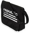 Republic - Logo Flaptop Messenger Record Bag