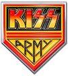 Kiss - Army Pennant Pin Badge