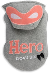 Dog's Life - Hero's Hoodie  - Grey (Medium)