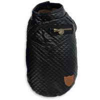 Dog's Life - DL Gangster Faux Leather Biker Jacket  - Black XXXXL (Shop Soiled Unit)