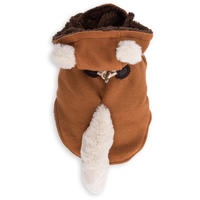 Dog's Life - Fox Hooded Coat  - Orange (X-Small)