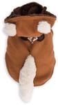 Dog's Life - Fox Hooded Coat  - Orange (X-Small)