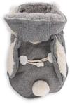 Dog's Life - Hare Hooded Coat - Grey (X-Small)