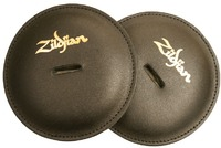 Zildjian Leather Pads for Marching Band Cymbals - Black (Pair) - Cover