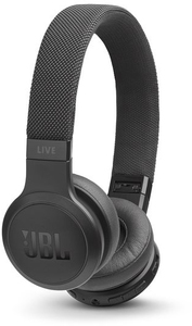 JBL LIVE 400BT On-Ear Wireless Headphones with Voice-Assistance (Black) - Cover