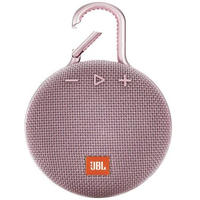 JBL Clip 3 3.3 watt Wireless Portable Speaker (Pink)
